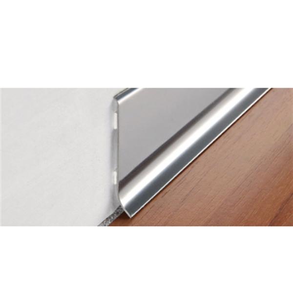 Progress Profiles Battiscopa in alluminio Battiscopa Acciaio Inox ...