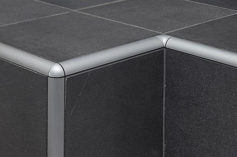 Profilpas profili per ceramiche ta 10 raccordo in alluminio argento acquista online su pavipro - Angolari per piastrelle ...