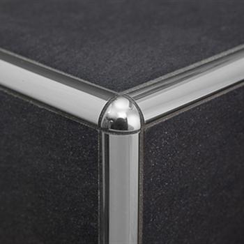 Profilpas profili per ceramiche tie 10 raccordo in acciaio inox acquista online su pavipro - Angolari per piastrelle ...