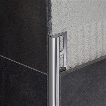 Profilpas profili per ceramiche ri 12 acciaio inox for Profili per gradini in acciaio