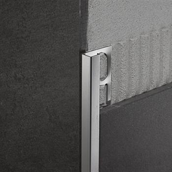 Profilpas profili per ceramiche zqin 125 profilo per angoli acciaio inox lucido acquista - Profili acciaio per piastrelle prezzi ...