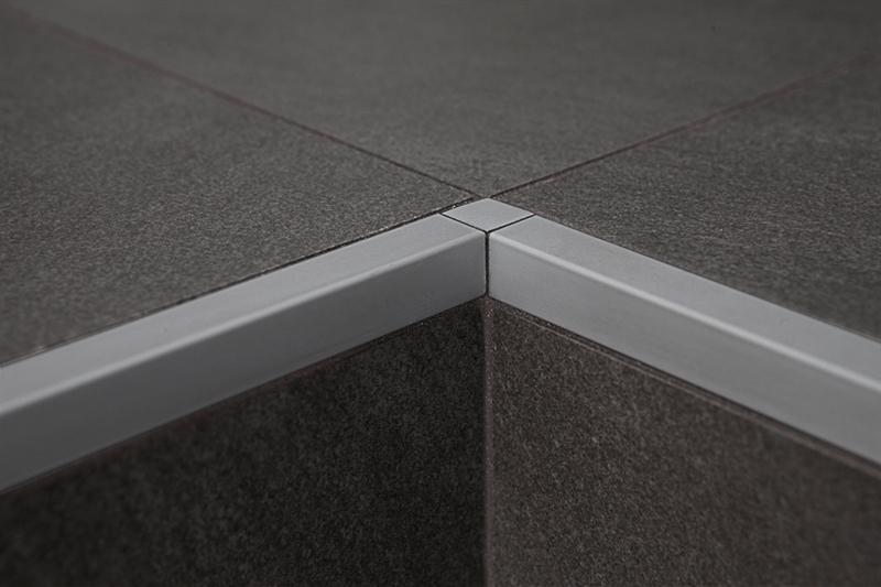 Profilpas profili per ceramiche zqan ei raccordo in alluminio