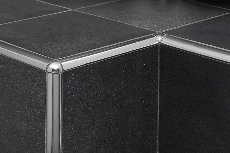 Profilpas profili per ceramiche tii raccordo in acciaio inox