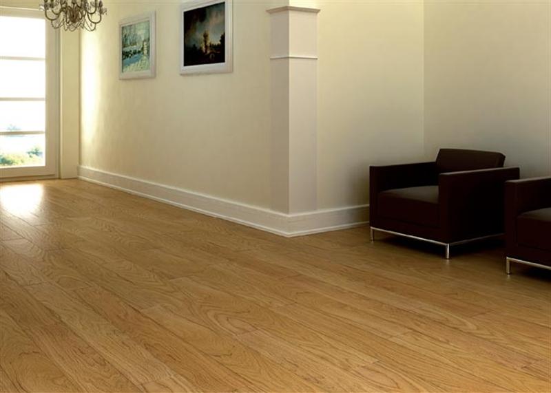Pavimenti In Legno Rovere : Ideal legno parquet incollato oasi rovere natura verniciato 14 mm