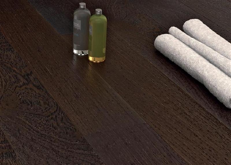Ideal legno parquet incollato oasi weng verniciato - Parquet prefinito incollato ...