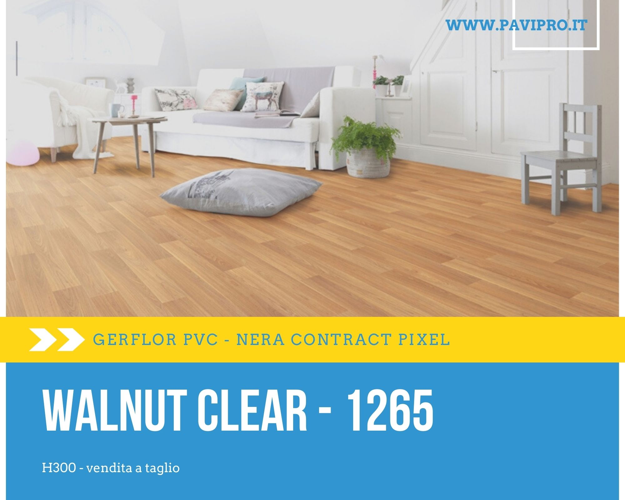 <strong>Nera Contract Pixel 1265 Walnut Clear</strong>