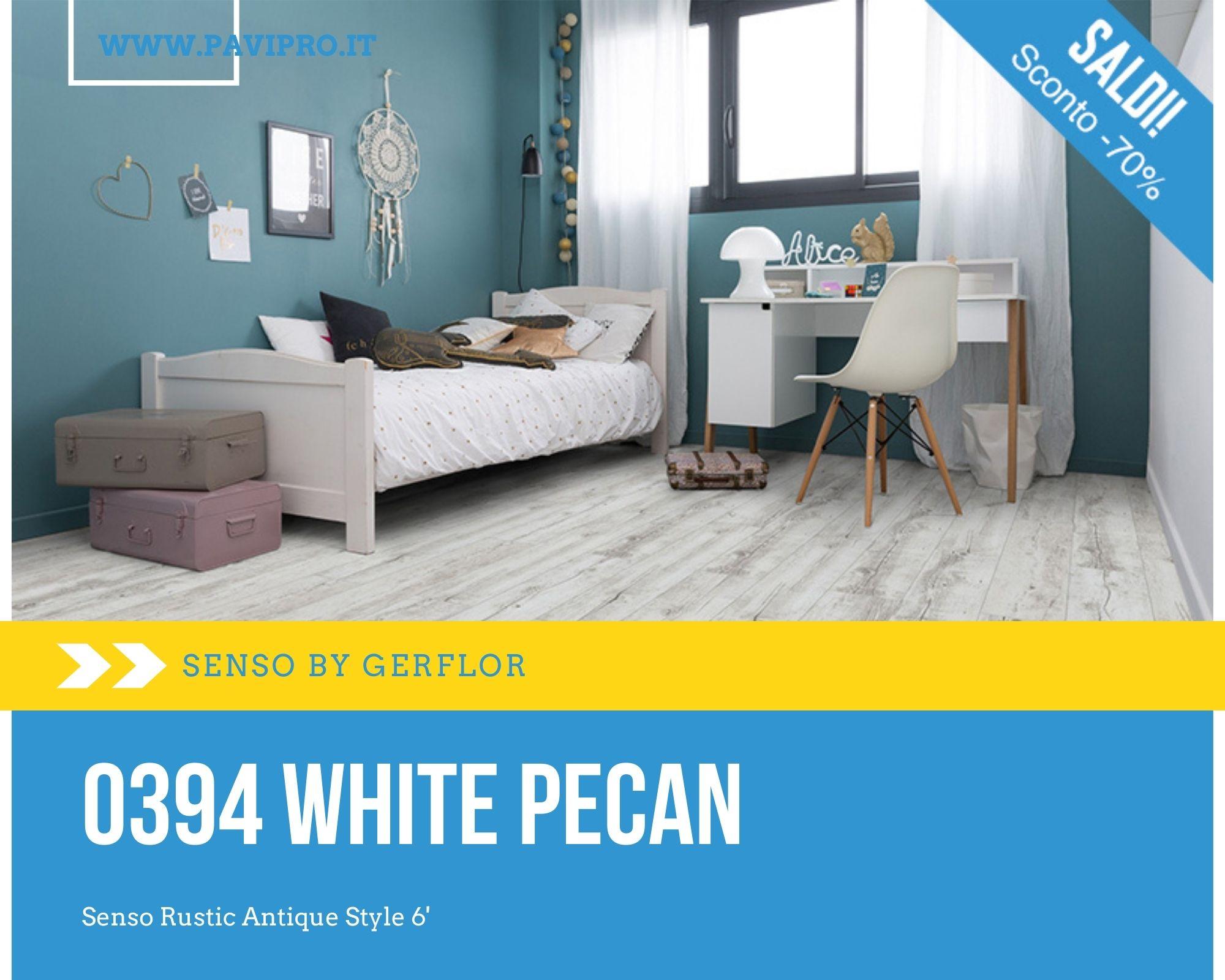 Senso by Gerflor – 0394 White Pecan